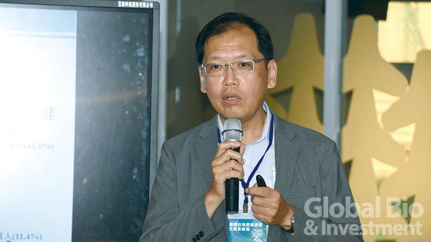 1.長照司副司長周道君曾公開表示,要提升照護效率,倚靠智慧技術發展是必然的趨勢。(攝影/巫芝岳)
