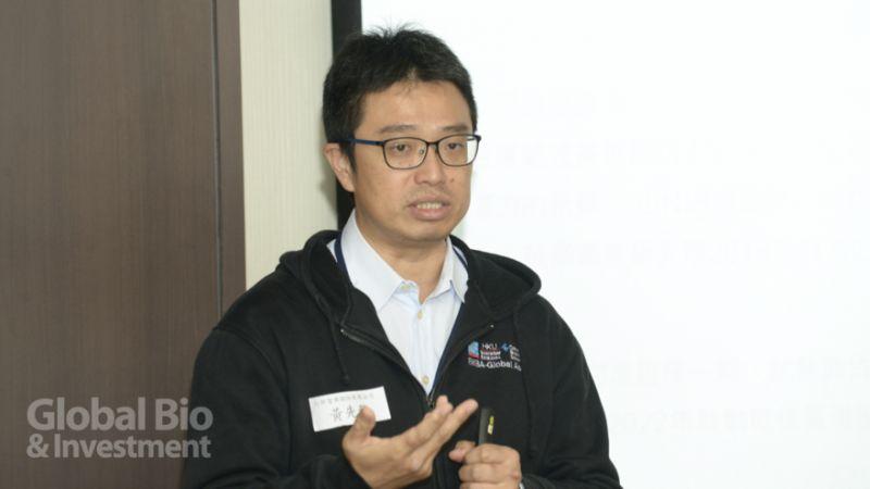 仁新醫藥新事業開發處副處長黃先龍(攝影/林嘉慶)